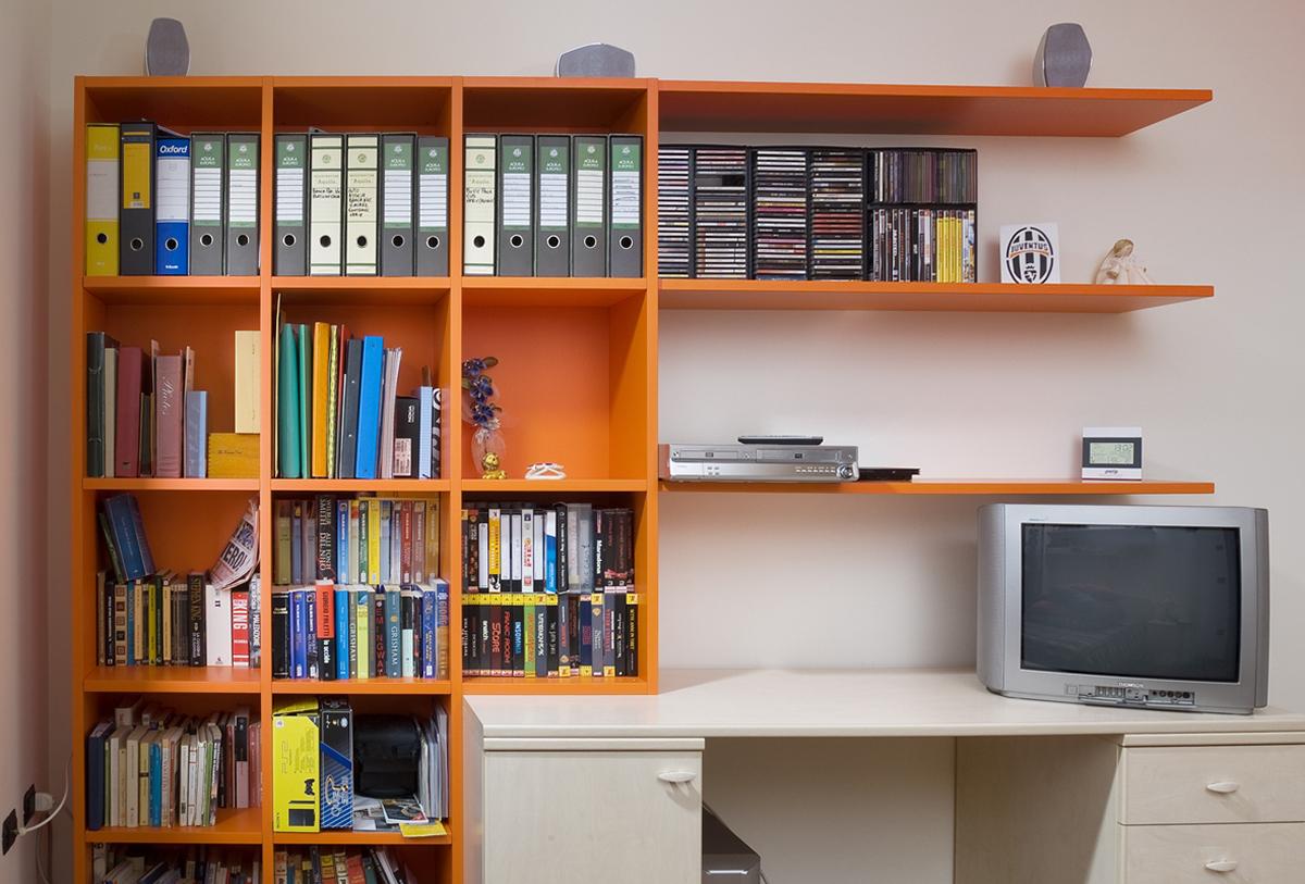 libreria arancione imax