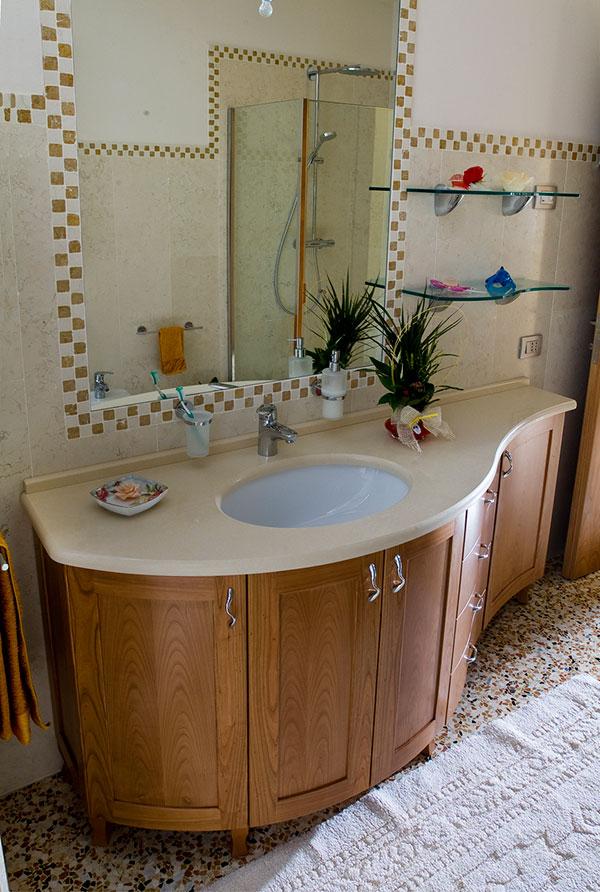 Bagno ciliegio imax imax falegnameria for Mensole ciliegio