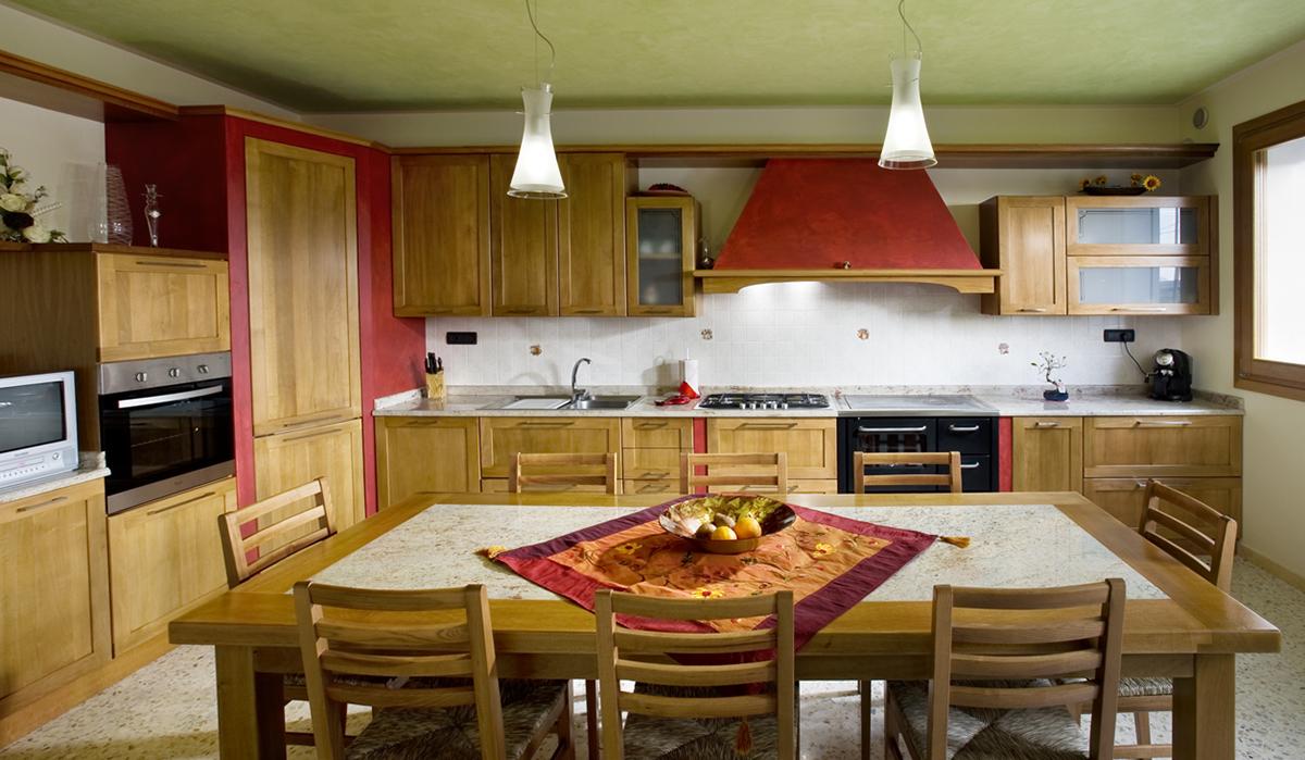 Cucina Noce Massello Imax Imax Falegnameria